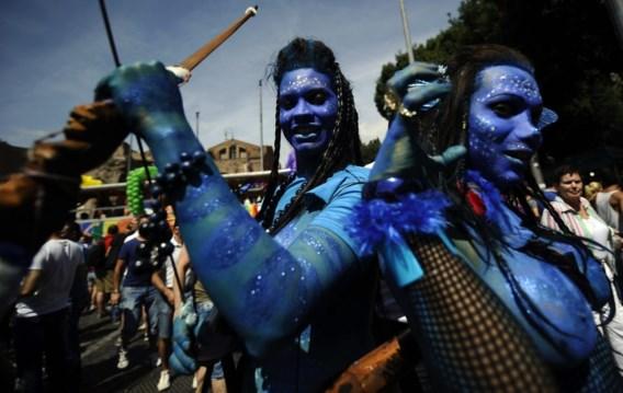 FOTOSPECIAL. Honderdduizenden holebi's vieren Gay Day