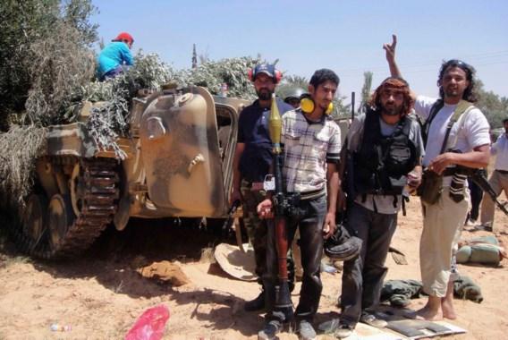 Libische rebellen hernemen strijd om oliestad Zawiya