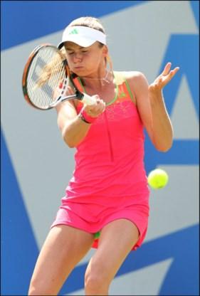 Daniela Hantuchova in finale WTA Birmingham tegen Sabine Lisicki