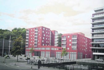 Woningen, winkelruimten en de hoofdzetel van Dijledal vormen De Latten en het sluitstuk van de Vaartkom en het Engels Plein.cbl