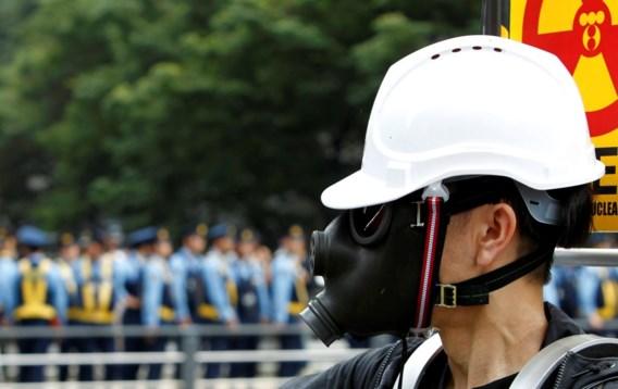 FOTOSPECIAL. Japanners betogen tegen kernenergie