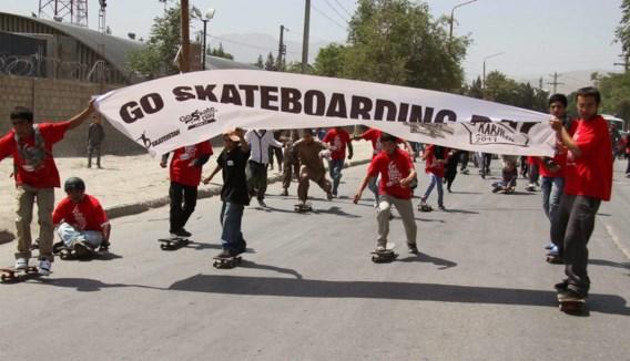 FOTOSPECIAL Skaten in Afghanistan