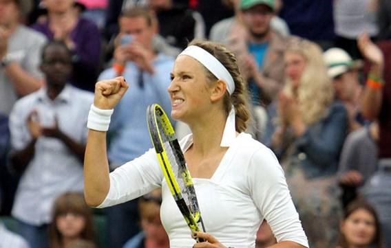 Victoria Azarenka maakt halve finales Wimbledon compleet