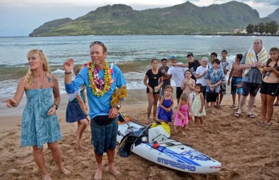 Nederlander legt 480 kilometer af op paddleboard