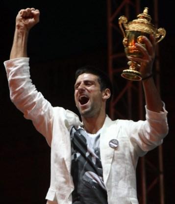 FOTOSPECIAL. 100.000 Serviërs feesten met Djokovic