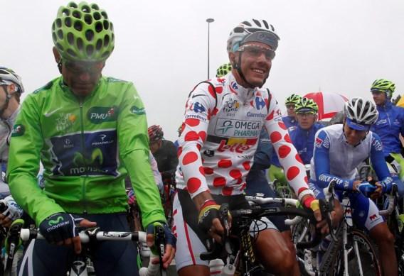 FOTOSPECIAL. Regen bij de start in Lorient