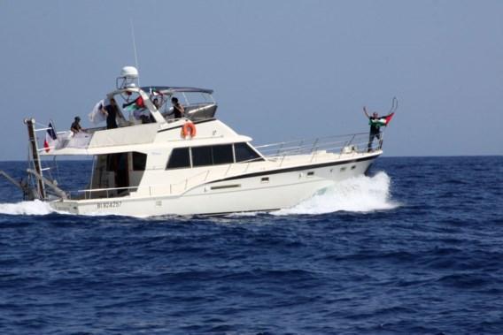 Frans schip heeft Griekenland verlaten
