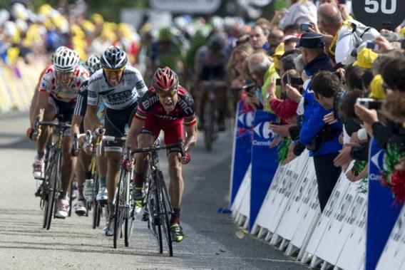 Evans klopt Contador en Gilbert op Mûr-de-Bretagne