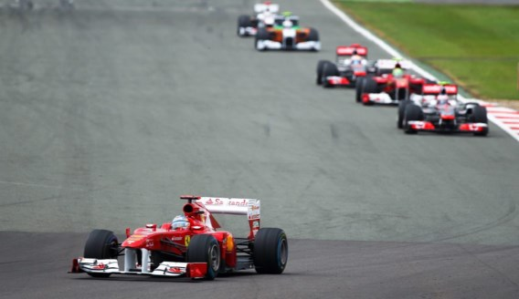Alonso de snelste in Silverstone