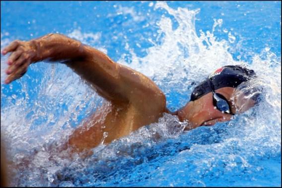 Net geen Europese medaille voor Junior Ward Bauwens op 400m wisselslag