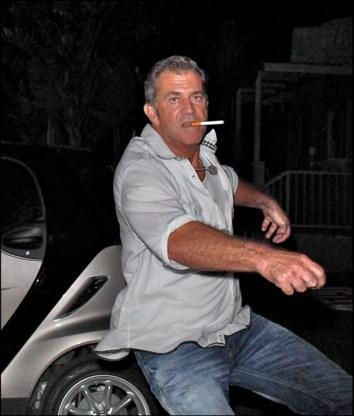FOTOSPECIAL. Mel Gibson laat zich van beste kant zien