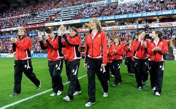 Fémina Standard stunt net niet in Champions League vrouwenvoetbal