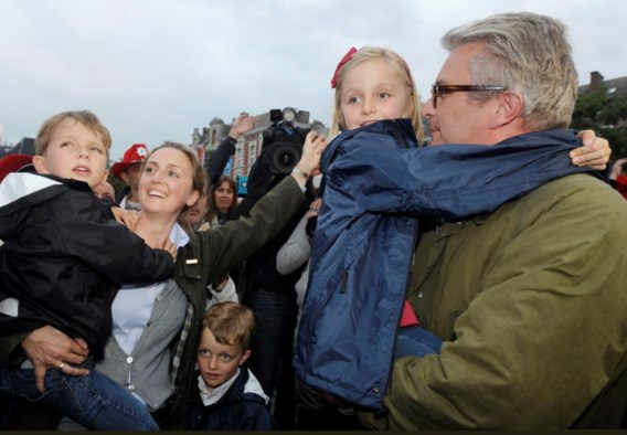 FOTOSPECIAL. 15.000 Belgen dansen op Bal National
