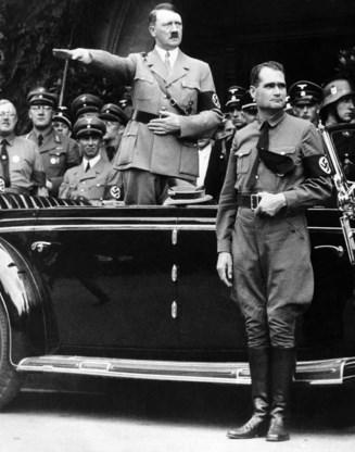 Graf Rudolf Hess wordt vernietigd