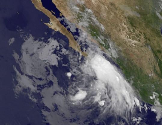 Orkaan Dora voor Mexicaanse kust neemt toe in kracht