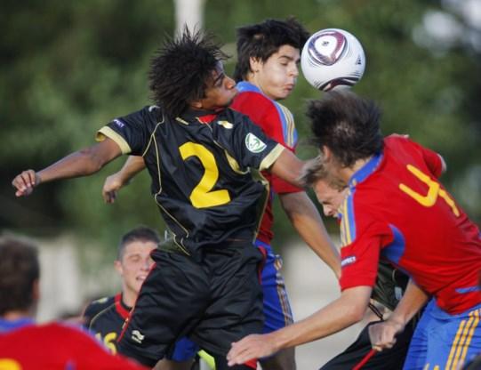 België verliest eerste partij op EK voetbal -19