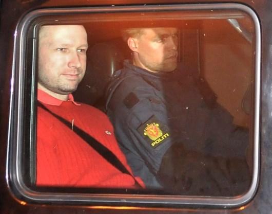 Anders Behring Breivik pleit niet schuldig