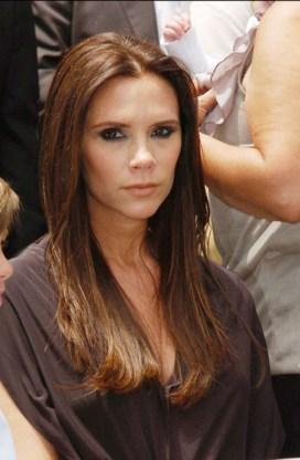 Victoria Beckham kan dochter niet vasthouden