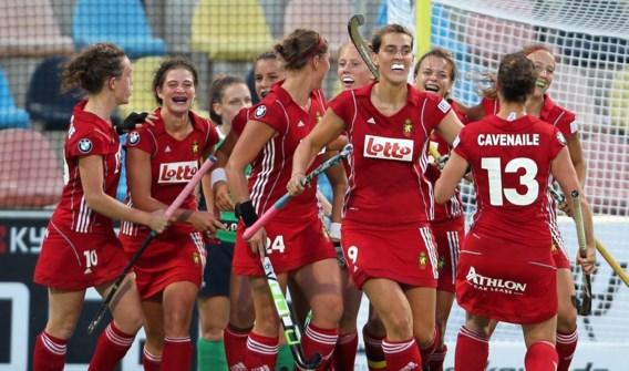 Belgische hockeyvrouwen overklassen Ierland op EK
