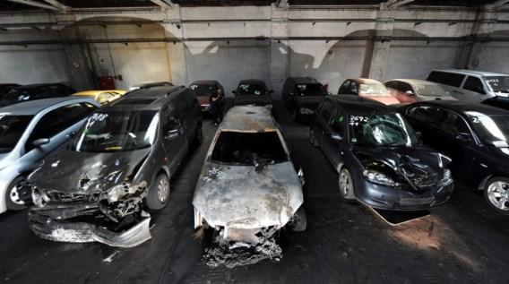 Al 70 wagens in brand gestoken in Berlijn