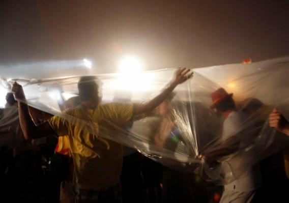 Zeven gewonden na hevig onweer tijdens avondwake paus