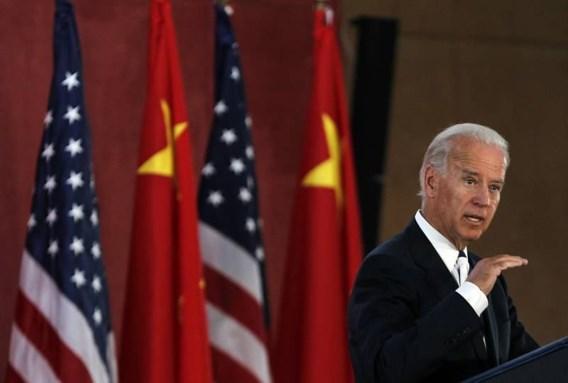 Biden stelt Chinezen gerust over Amerikaanse economie