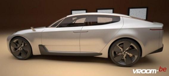 Kia Four-doors Sports Sedan Concept: sporten met het gezin