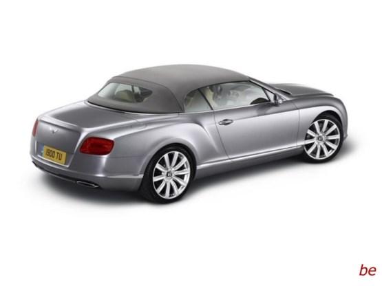 Bentley Continental GTC: edele Brit gaat topless