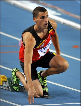 Kevin Borlée pakt brons op 400 meter