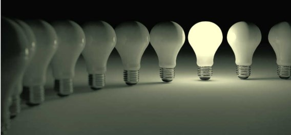 Lampen schijnen minder fel dan verpakking aangeeft
