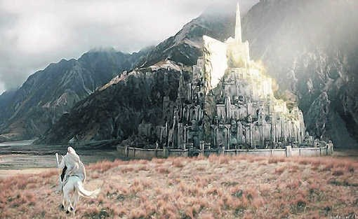De (digitale) stad Minas Tirith in de Lord of The Rings