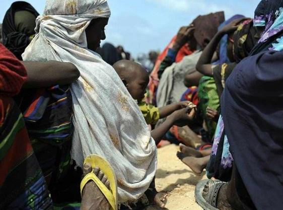 Hongersnood breidt zich uit in Somalië