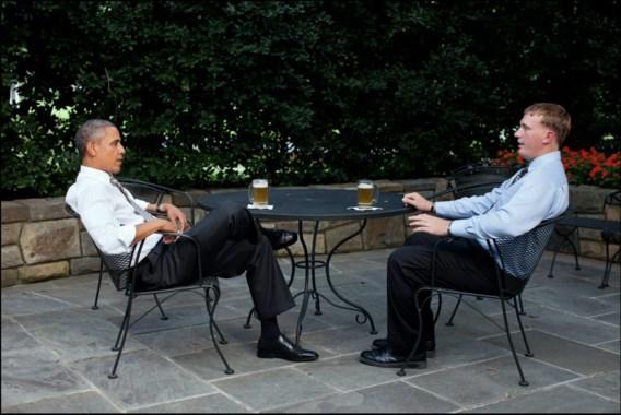 Obama brouwt eigen bier