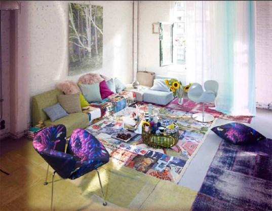 FOTOSPECIAL. Marina Yee ontwerpt interieurstoffenlijn
