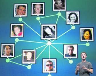 Mark Zuckerberg presenteert: het verhaal van je leven op Facebook. AFP