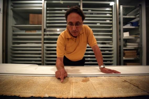 FOTOSPECIAL. Google zet 2.000 jaar oude Dode Zeerollen online