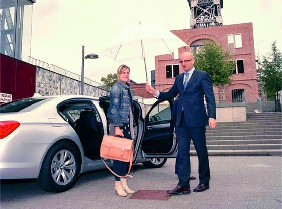 Luxe is... een auto met privéchauffeur