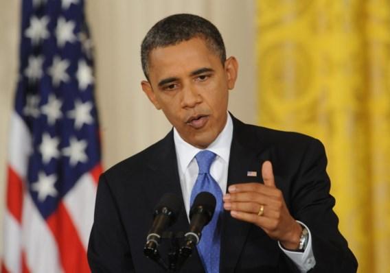 Obama: 'Wet over jobcreatie behoedt VS voor recessie'