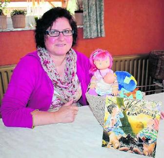 Carine Pauwels bundelde haar ervaringen over borstvoeding en maakte er zelf de illustraties bij. kvh