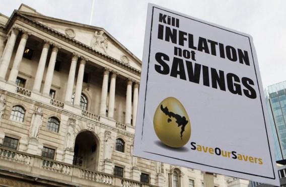 Bank of England pompt 75 miljard in economie
