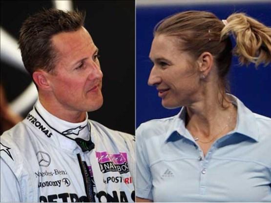 Schumacher en Graf grootste Duitse sporters ooit volgens peiling