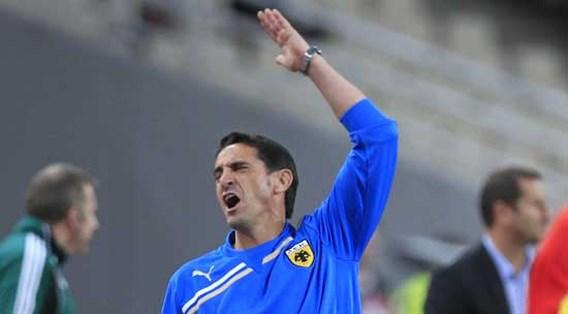 Manuel Jimenez niet langer trainer van AEK Athene