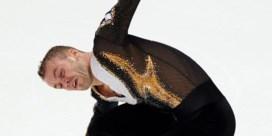 Kevin Van Der Perren knap tweede op Skate America