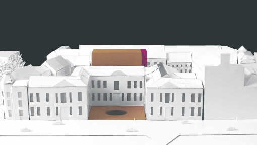 De architecten willen de bibliotheek slopen voor een nieuwbouw die alle bijkomende functies combineert. a-res & sum research