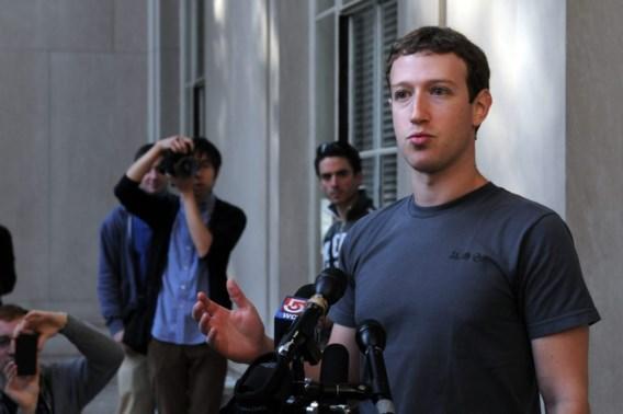 Facebook-foto's van Marc Zuckerberg gelekt