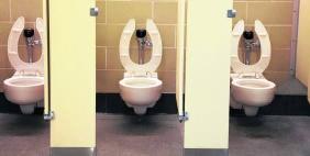 Nu zijn er al 'visuele controles' van de toiletten.rr