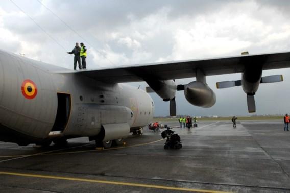 Belgische C-130 raakt beschadigd in Congo