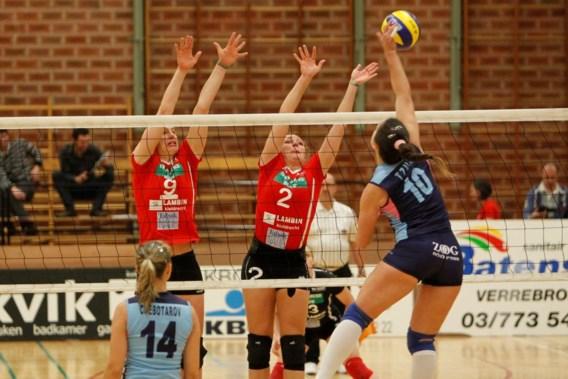 Asterix Kieldrecht naar achtste finales CEV Cup volley