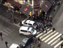 VIDEO. Paniek bij evacuatie Place Saint-Lambert