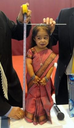 Kleinste vrouw ter wereld gaat de politiek in